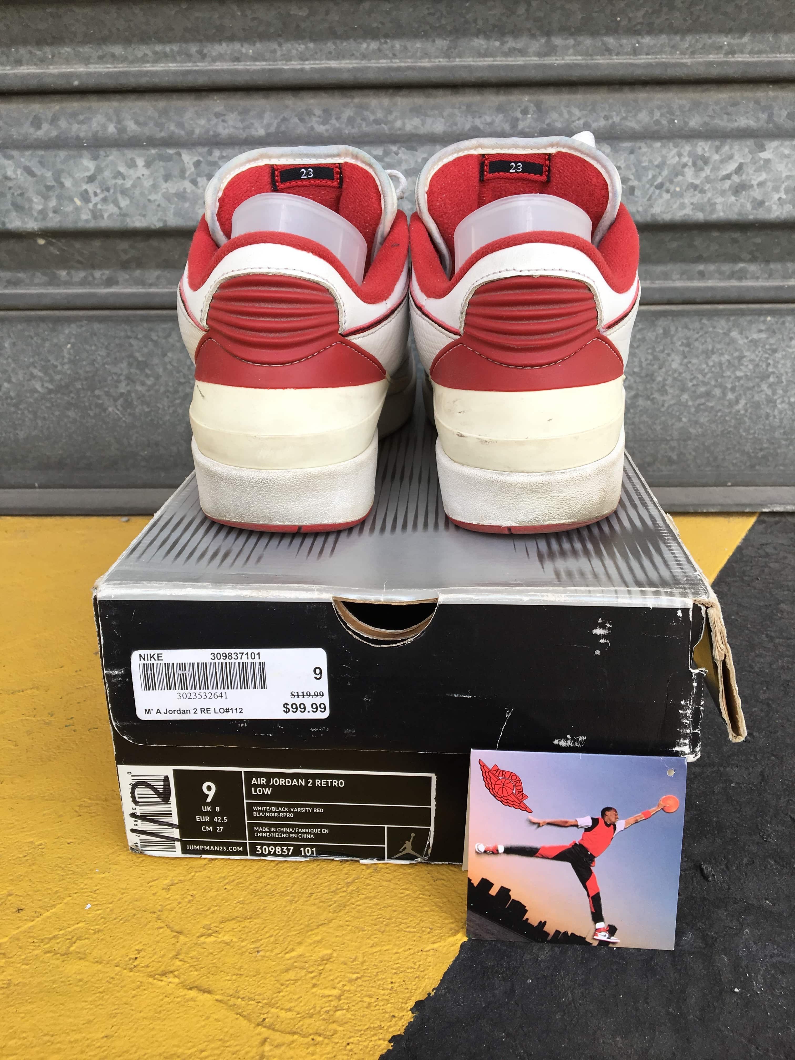 Shoes bla Jordan Retro Air 2 Men's White byfgY76v
