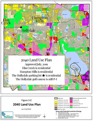 2040 Plymouth Land Use Map