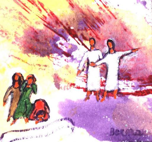 26_Les anges annoncent la Résurrection