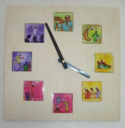 Horloge mini tableaux