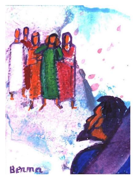 10_Jésus rencontre Marie, sa mère