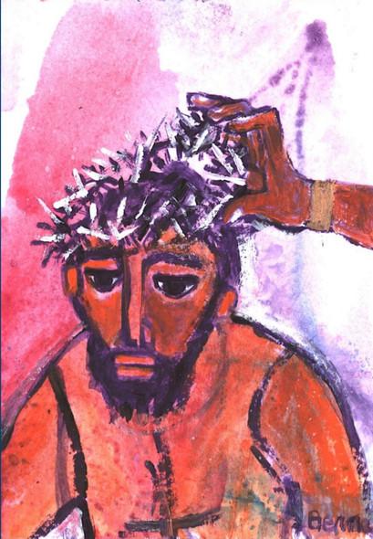 6_Jésus est flagellé et couronné d'épine