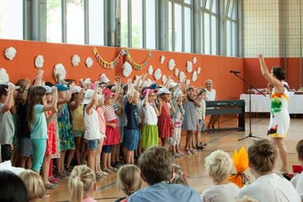 Unsere bili Kinder singen