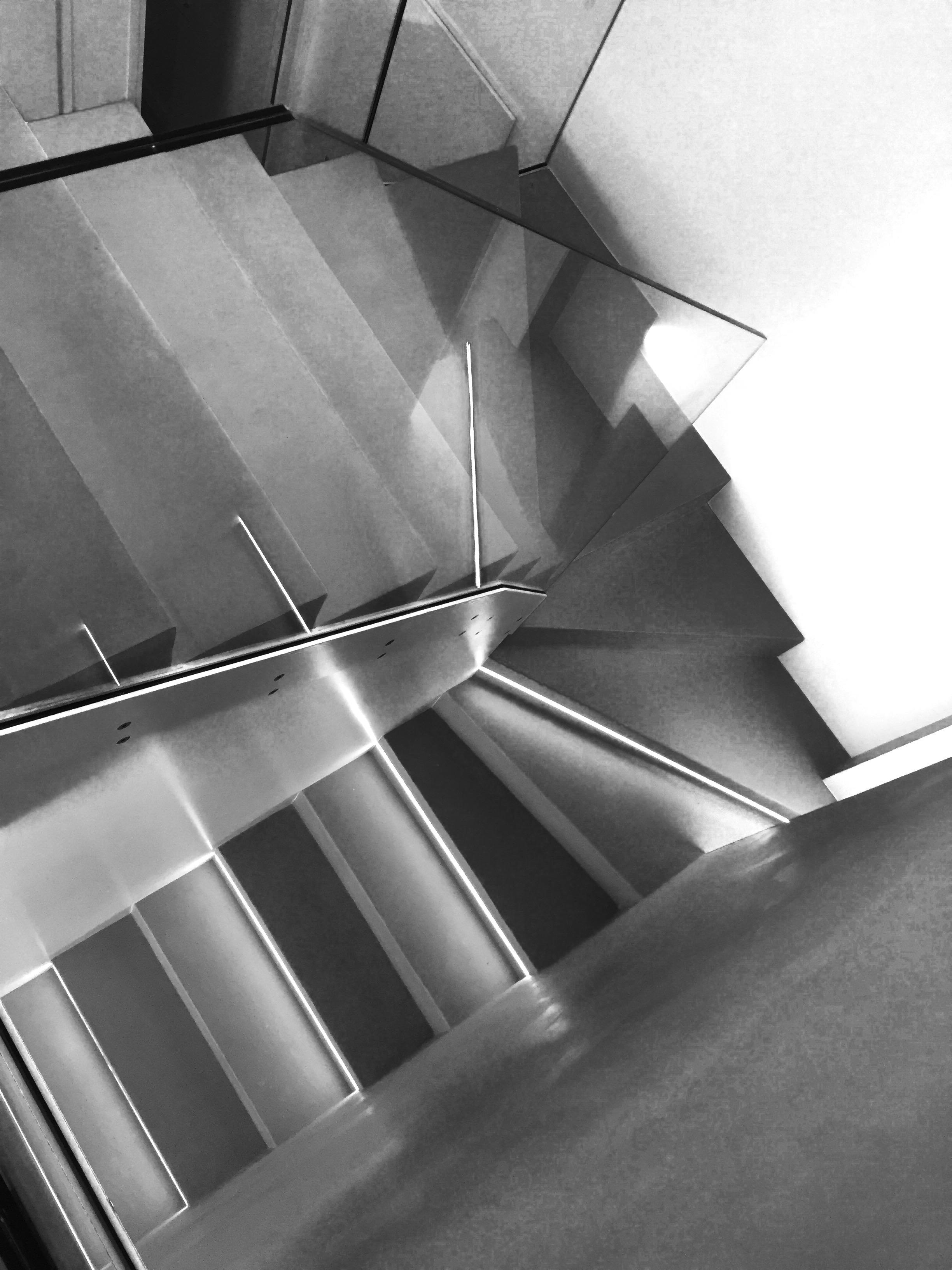 Escalier béton ciré Mercadier