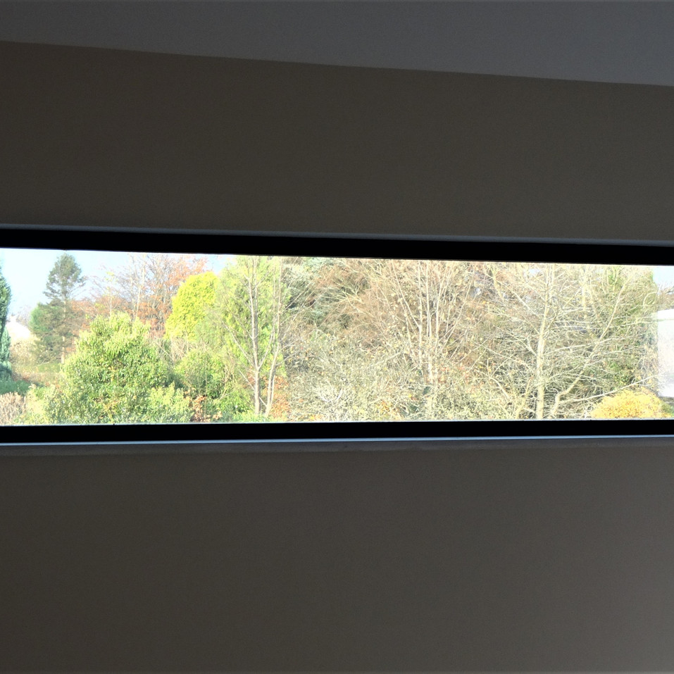 The Tal house window