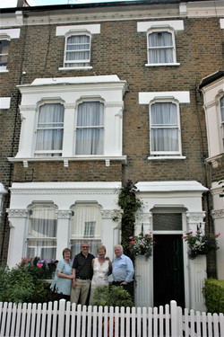 Childhood Summers Spent in a London Townhouse