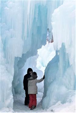Ice Castles in Minnesota