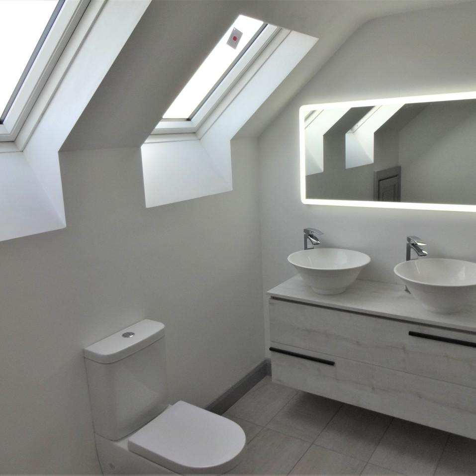 The G House bathroom
