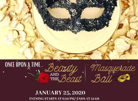 Singles Masquerade Ball Jan 25, 2020