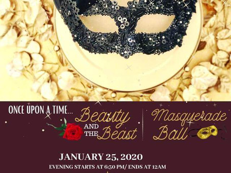 Singles Masquerade Ball Jan 25, 2020