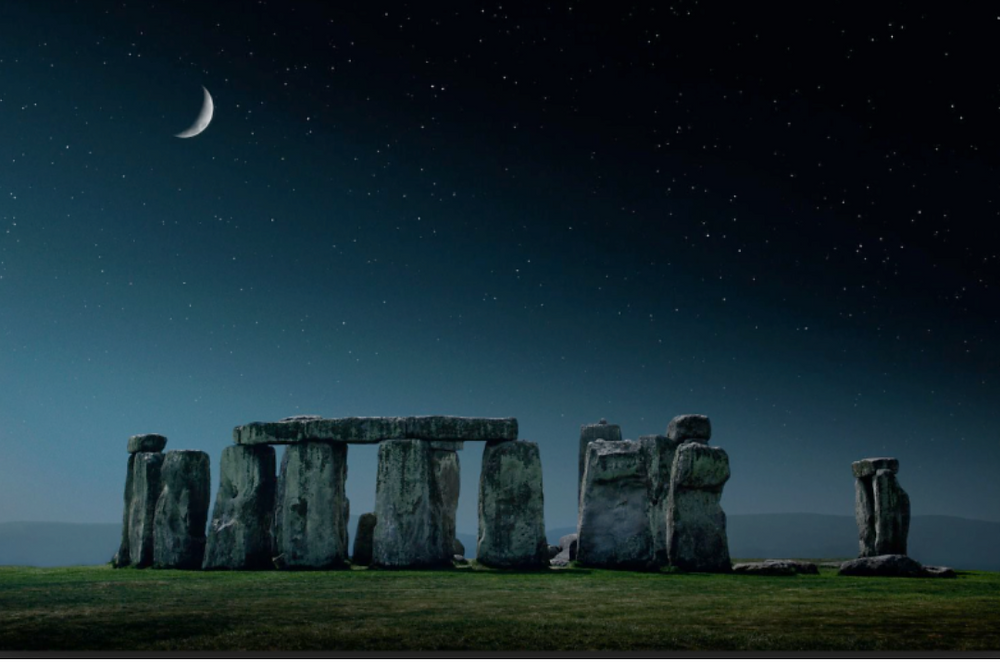 New Moon Stonehenge