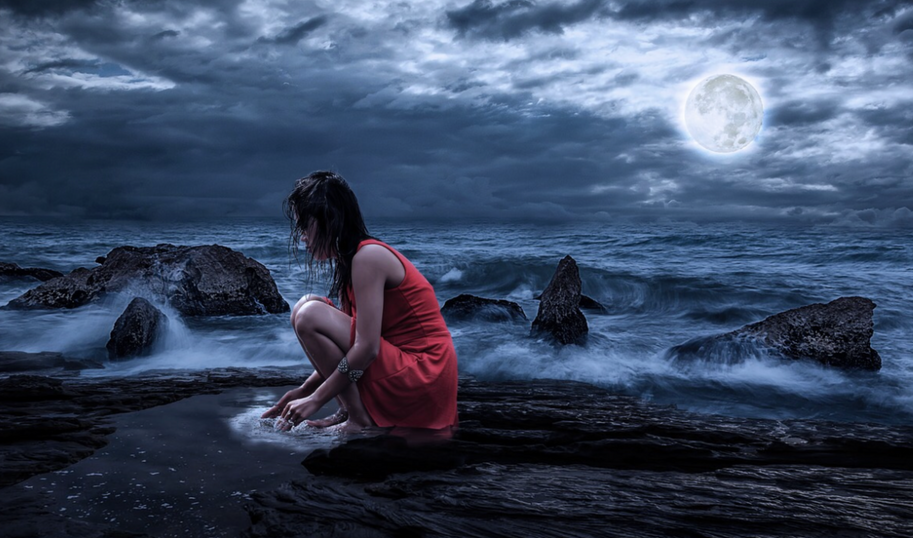 Navigating the Dark with Grandmother Moon's Light and Wisdom