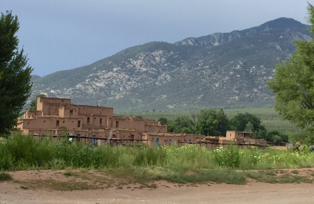 Old Town Pueblo Taos