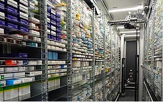 logistique pharmaceutique stockage souterrain solution ECCUS SA