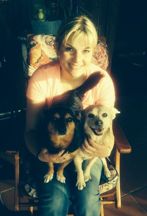 mini wunderbare Hundis Milly (14) und Lu
