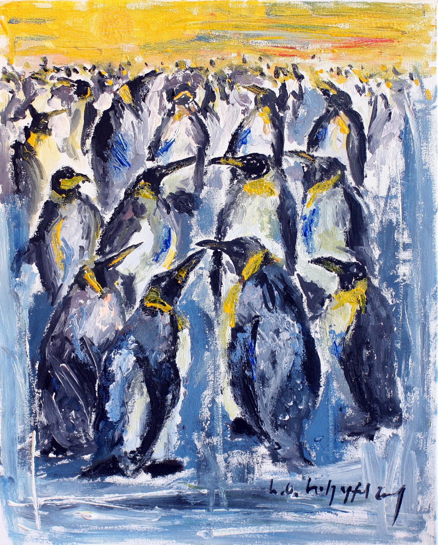 Konferenz der Pinguine