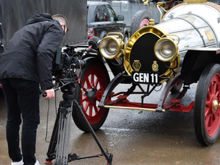 TV Filming for Chitty