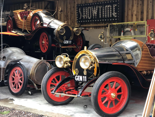 Our Chitty Cars!