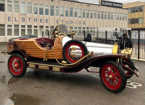 Chitty at Elstree Studios