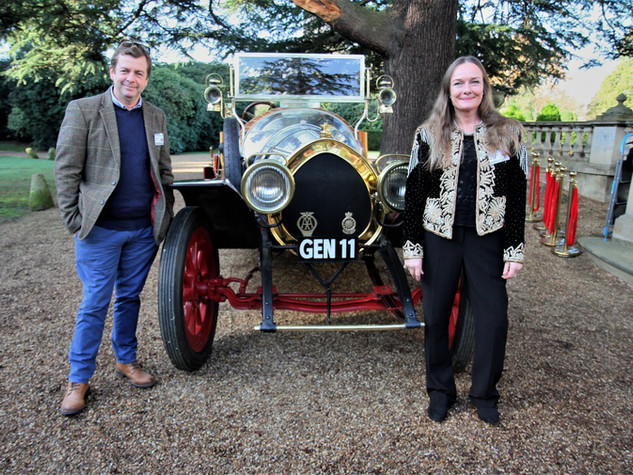 50th Anniversary at Pinewood with Adrian and Heather with Chitty.jpg