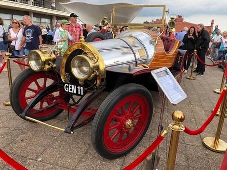 Chitty on display in Bexhill