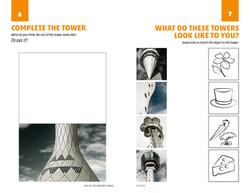Educational Brochure spread