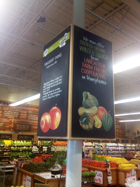 Produce Department Chalks