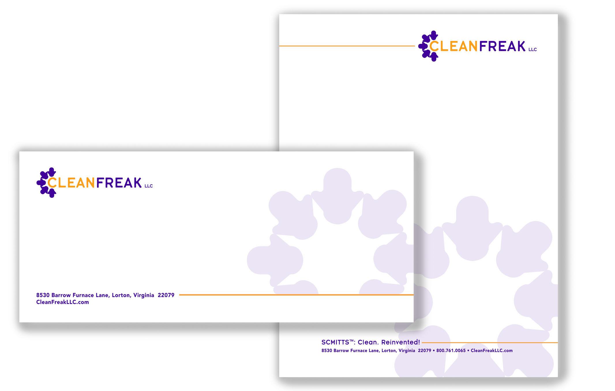Clean Freak letterhead