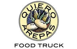 Quiero Arepas Round Logo