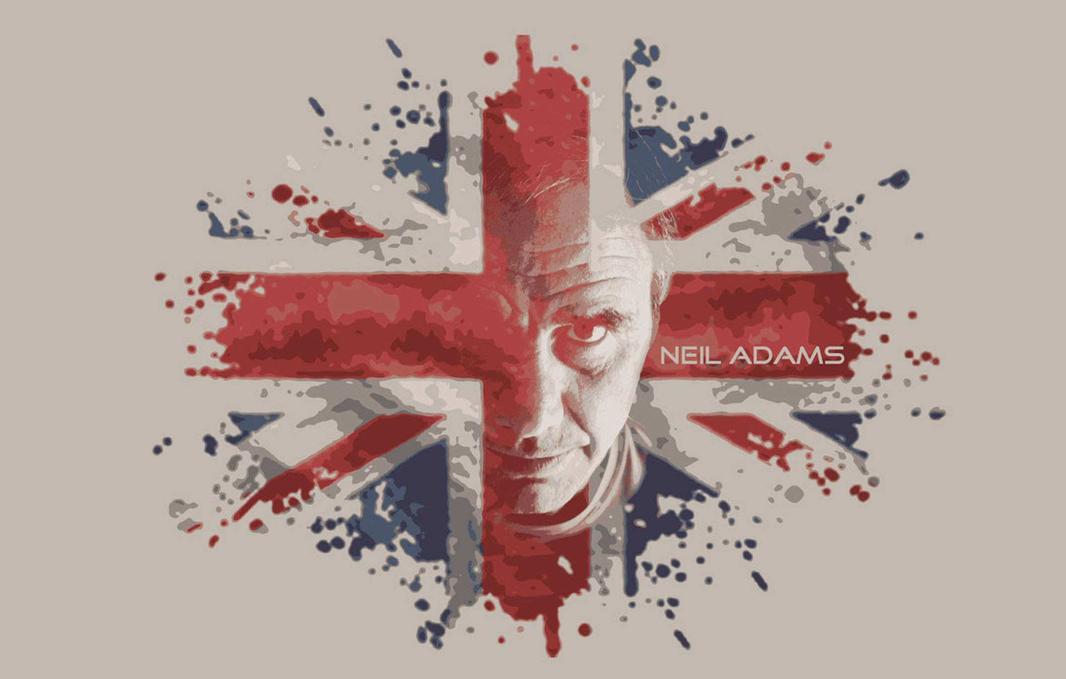 Neil Adams Union Jack