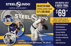 SteelJudo Evergreen Promotion Flyer