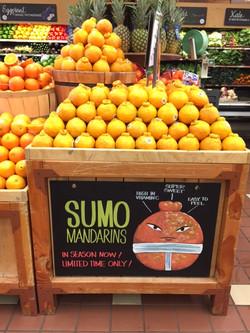 Sumo Mandarin chalk