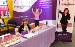 PeggySpeaks Booth