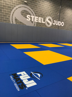 SteelJudo Mat Area