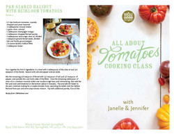 All about Tomatoes Class