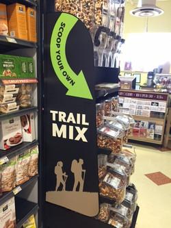Trail mix display
