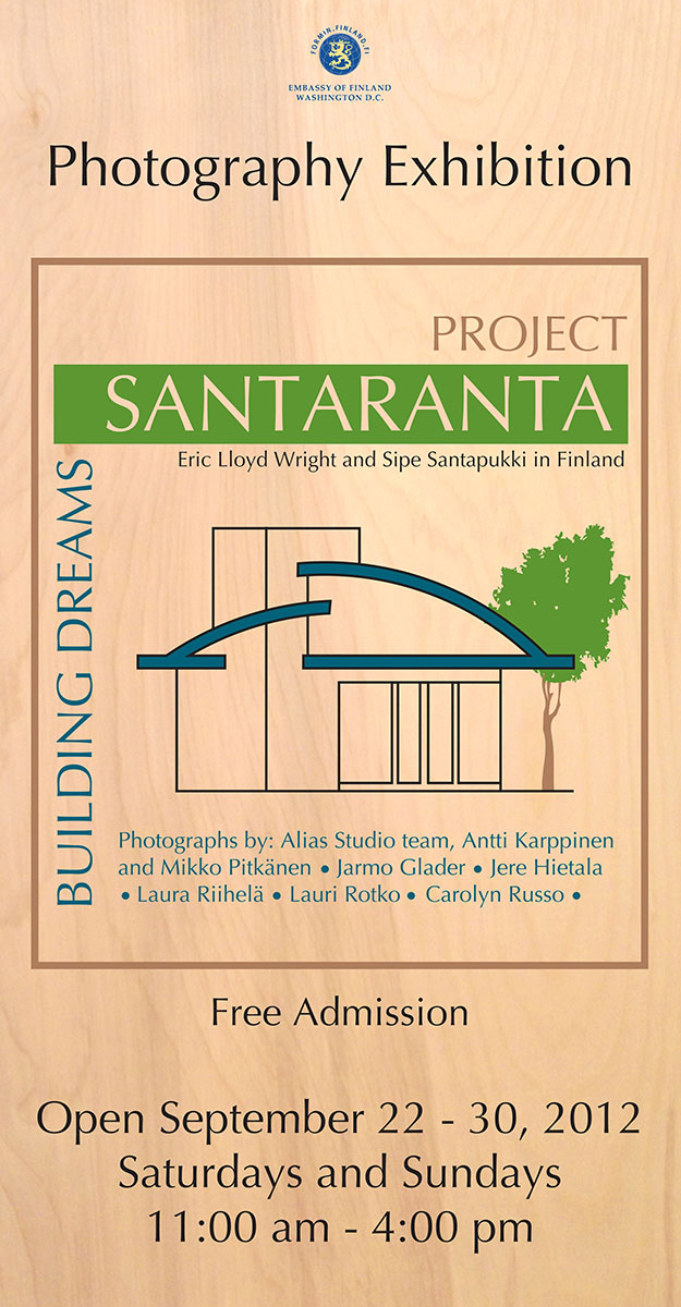 Poster for Santaranta Exhibit