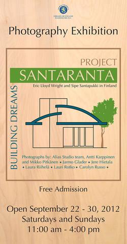 Poster for Santaranta Exhibit
