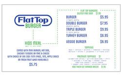 FlatTop monitor menu