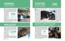 AWLA Annual report spread