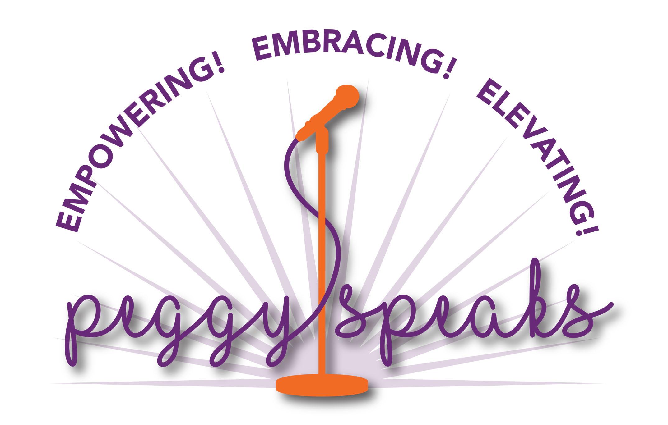 PeggySpeaks Logo