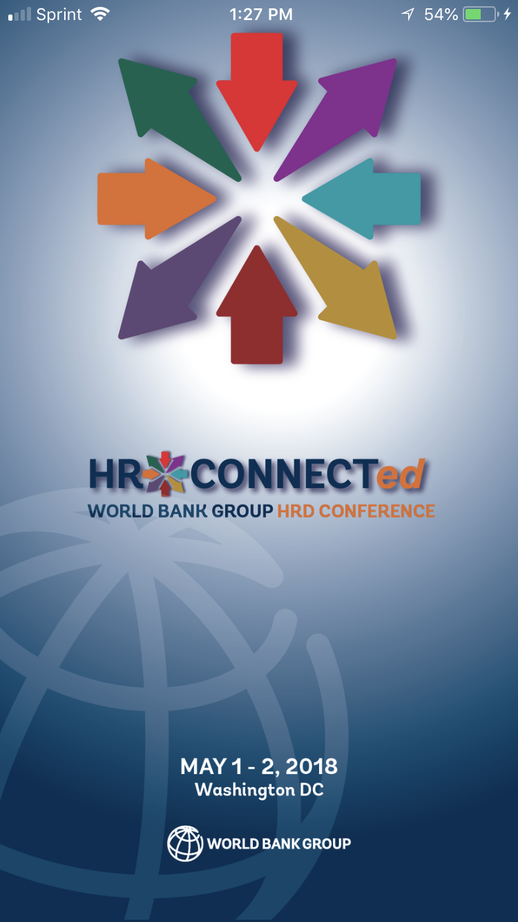 HR Connected App home page