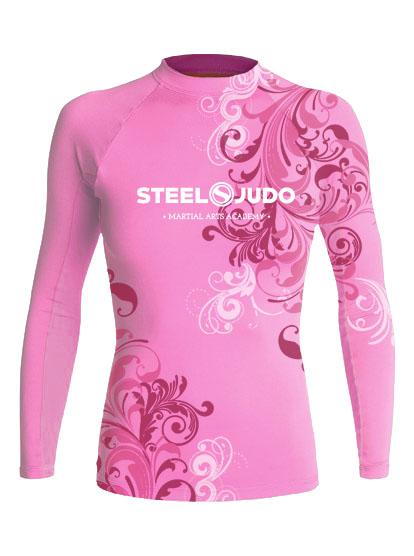 SteelJudo Pink Rashguard