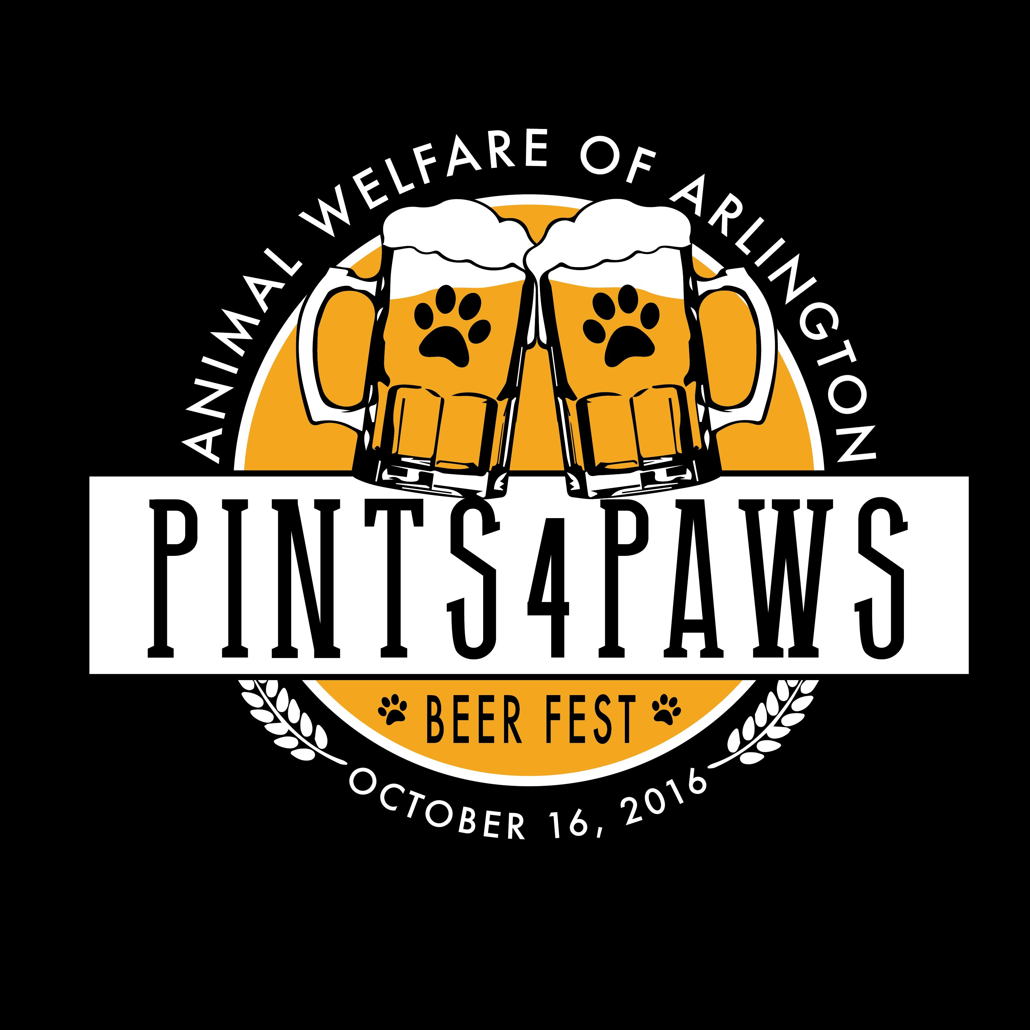 Pints 4 Paws Logo
