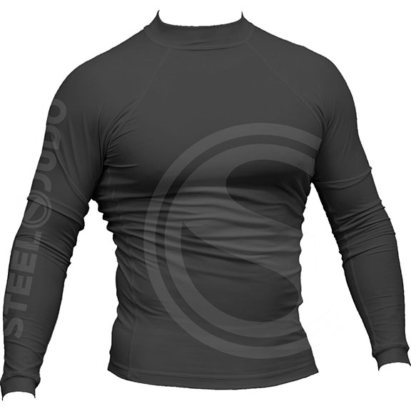 SteelJudo Grey Rashguard