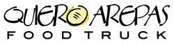 Quiero Arepas Horizontal Logo