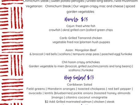 Lunch @ Ate Menu : 8.12 - 8.16