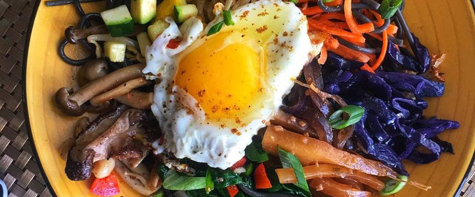 asian caribbean bidimbap