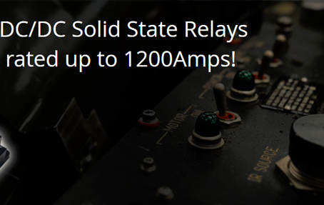 NEW High Power DC-DC Solid State Relay (HPD- Series)