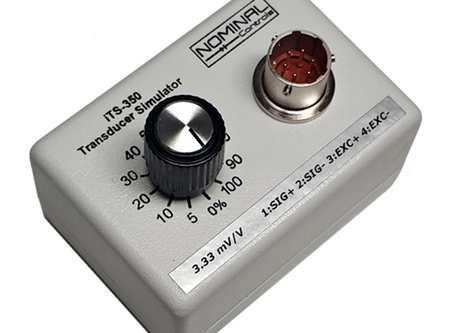 3.33mV/V Transducer Simulator Now Available! | New Product Brief
